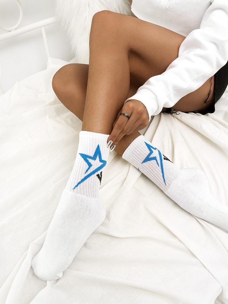 STARS BASKET SOCKS