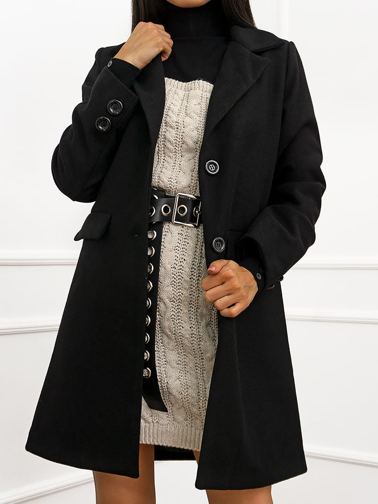 MORGAN BLACK COAT
