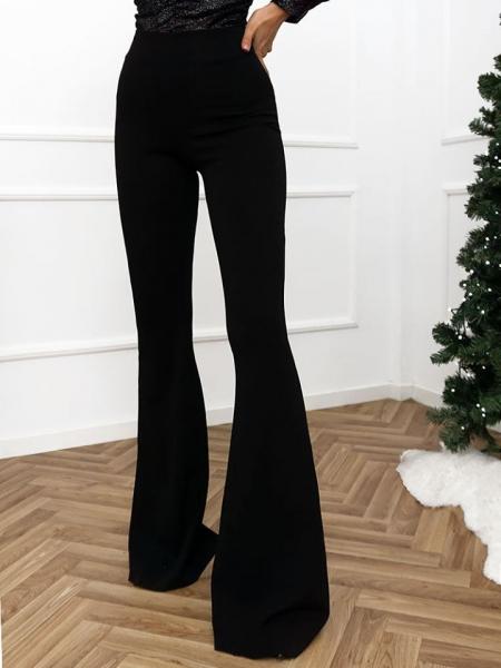 ANGELINA BLACK BELL PANTS
