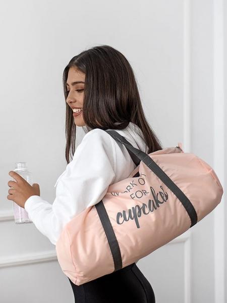 CUPCAKE GYM BAG