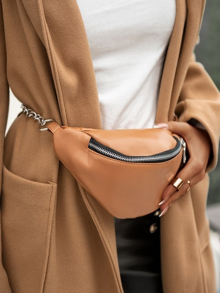 MANUEL CAMEL BELT BAG