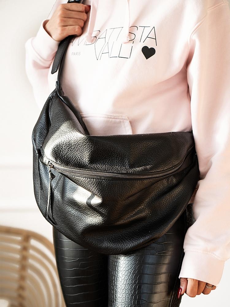 BUM BLACK SHOULDER BAG