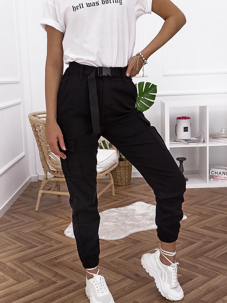 JAGGA BLACK CARGO PANTS