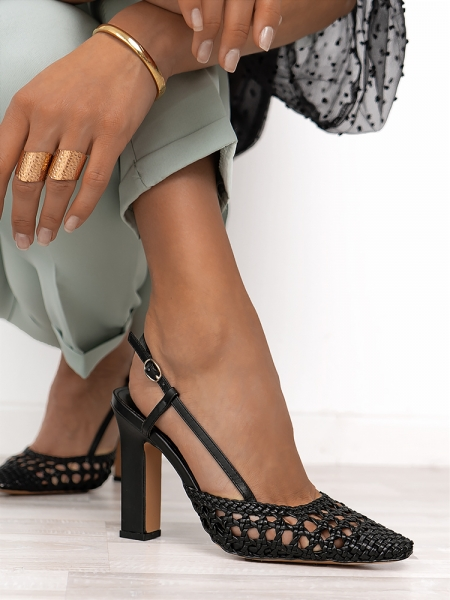 LACEY BLACK SANDALS