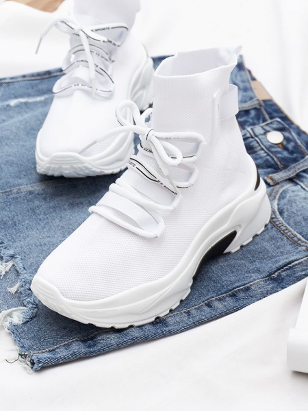 DORY  WHITE SNEAKERS