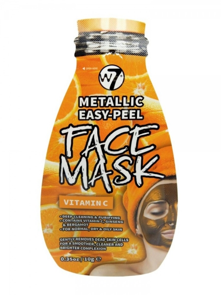 METALLIC EASY-PEEL VITAMIN C FACE MASK
