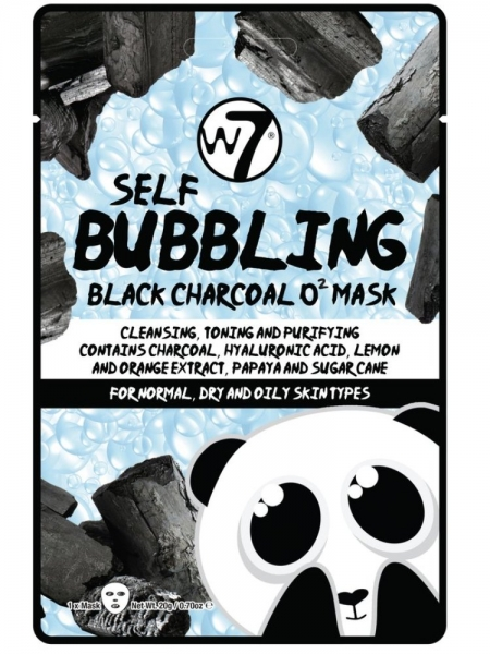 SELF-BUBBLING BLACK CHARCOAL  FACE MASK