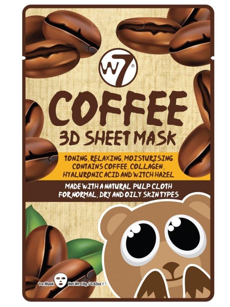 COFFEE 3D SHEET FACE MASK