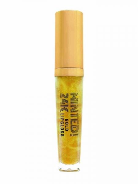 Minted 24K Gold Lipgloss