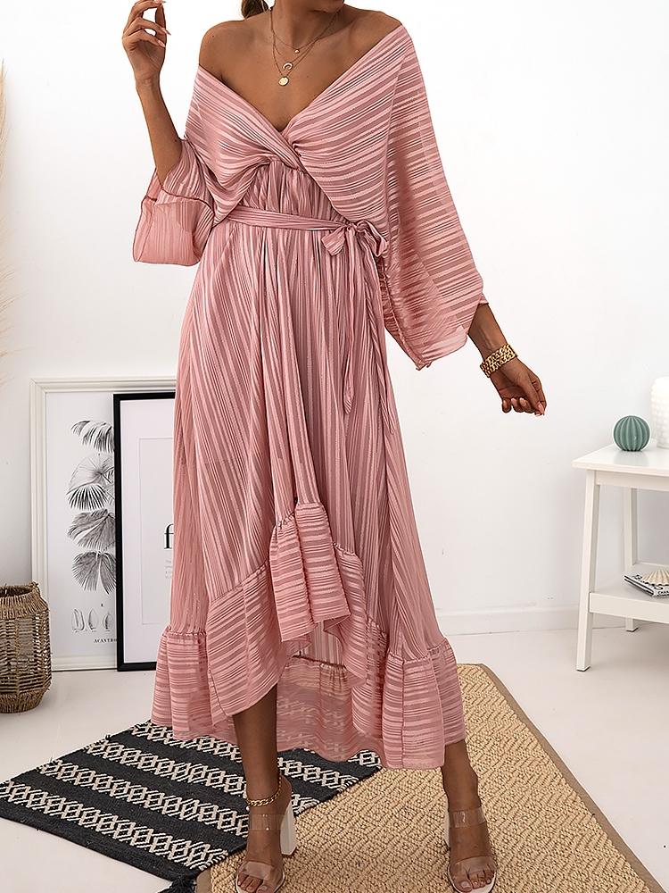 ODETTE PINK  MAXI DRESS