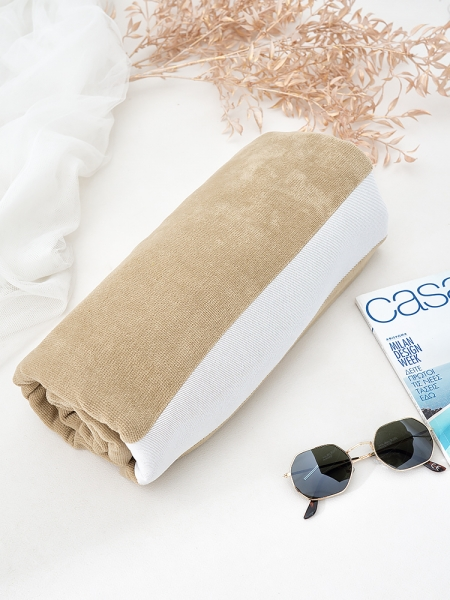 BEIGE COTTON  TOWEL