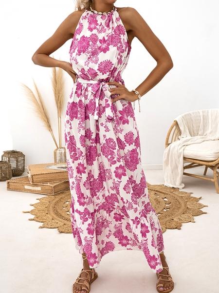 PRESLEY MAXI FLORAL DRESS