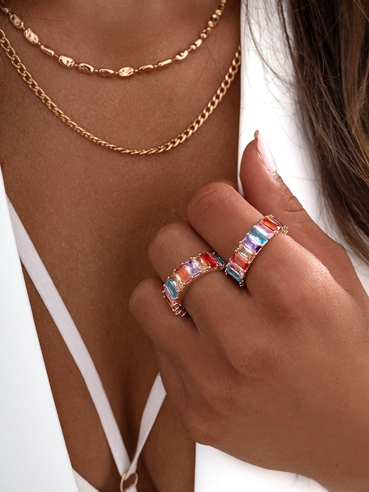 CRYSTAL COLORS RING