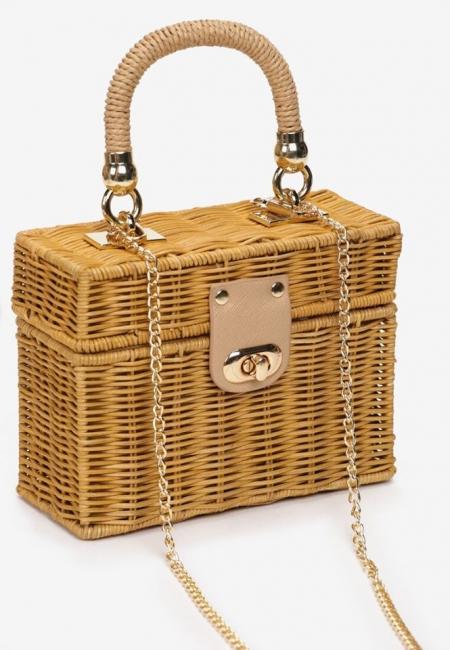 CAMEL BOX BAMBOO BAG