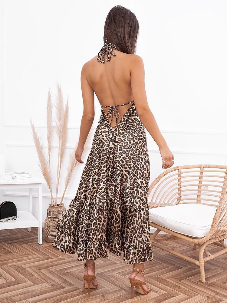 AGATHA LEOPARD DRESS