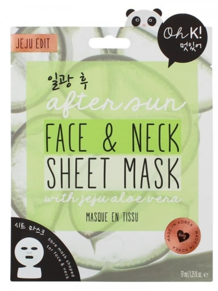 Oh K! After Sun Face & Neck Sheet Mask