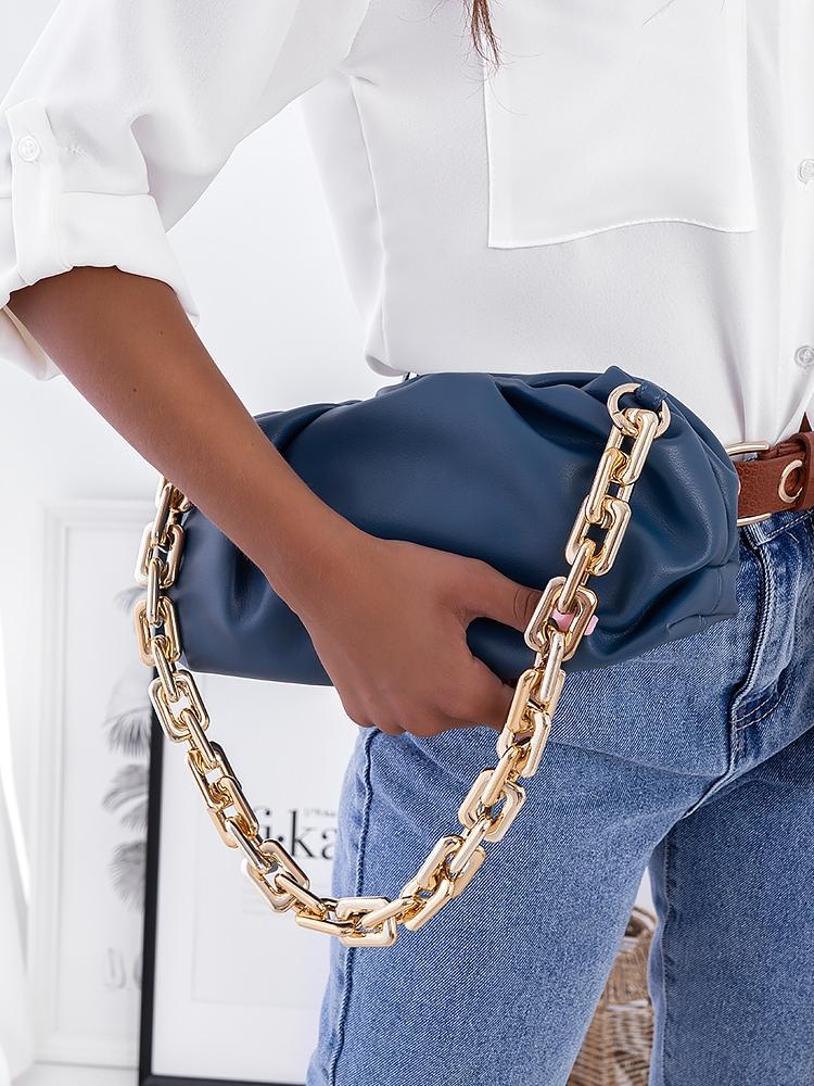 NORVIL BLUE SHOULDER BAG
