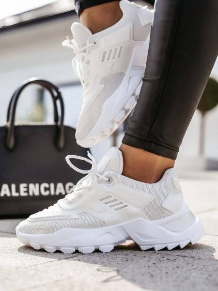 VALENCIA WHITE SNEAKERS