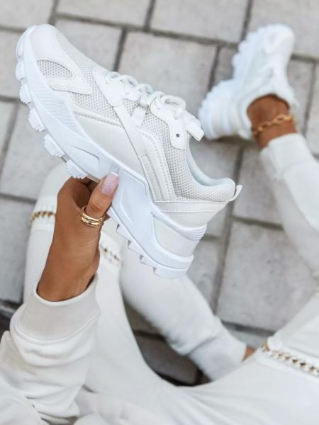 BALANCE WHITE SNEAKERS