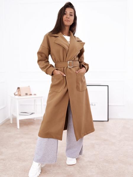 DOMENICA CAMEL LONG COAT