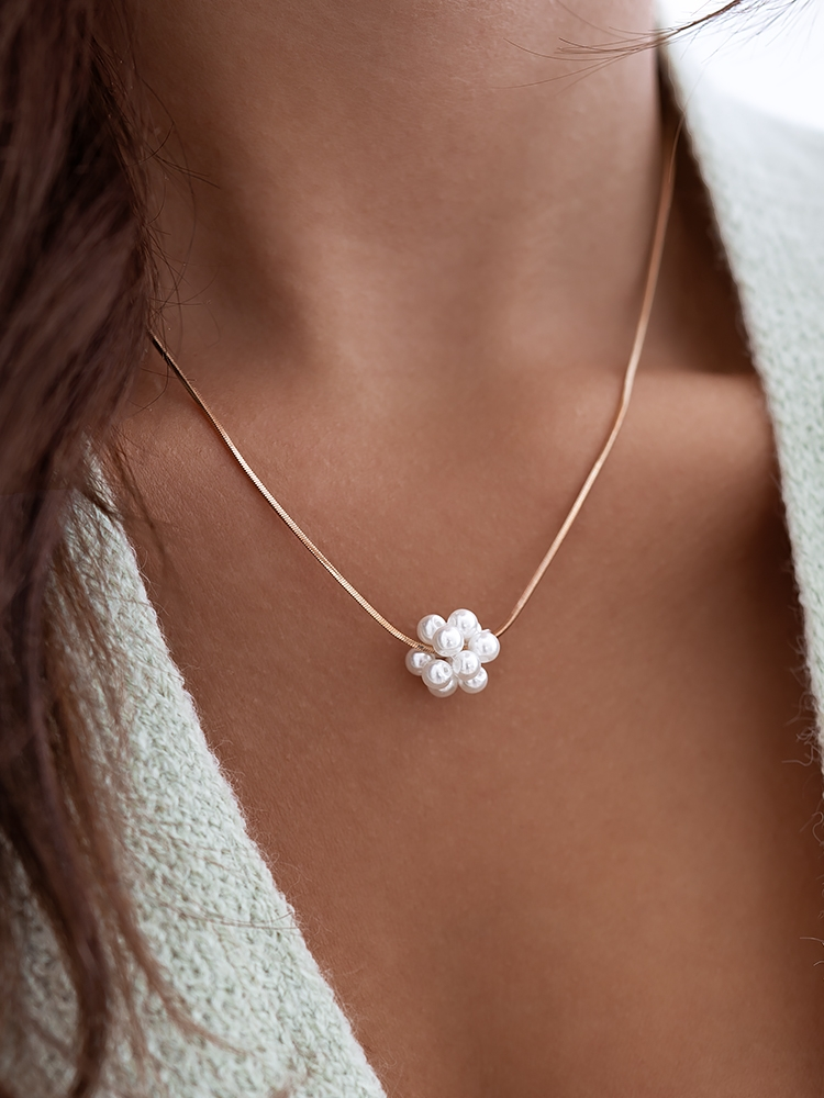 ATOM PEARL NECKLACE