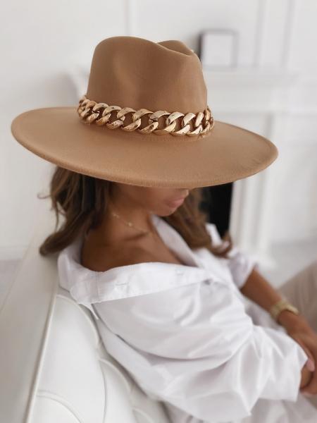 COWBOY CAMEL HAT