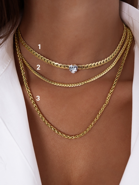 MONTPELLIER GOLD CHAIN NECKLACE