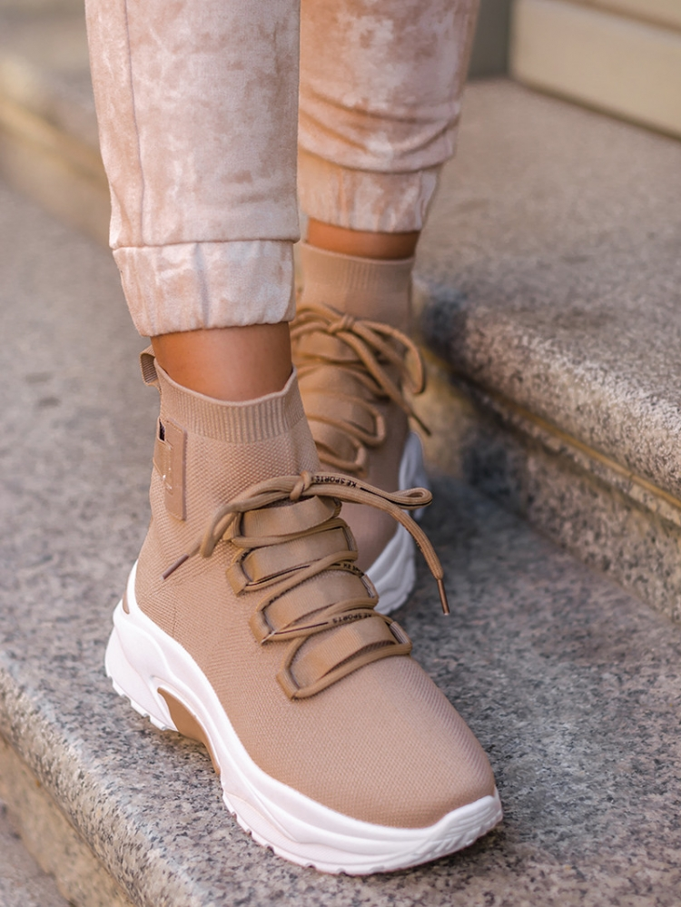 DORY NUDE SNEAKERS