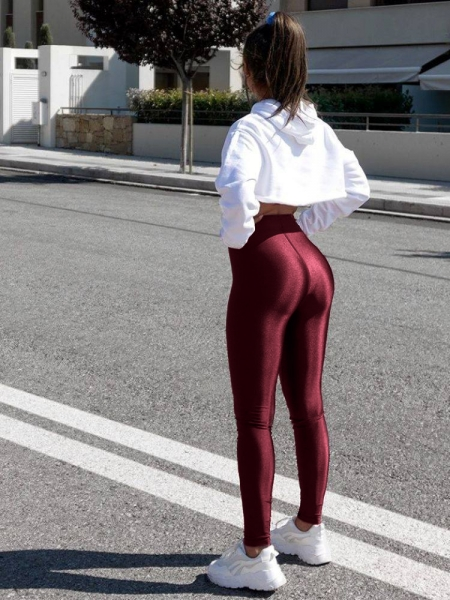 SUPER LYCRA CHERRY LEGGINGS