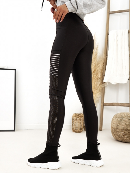 ISLA PUSH UP BLACK LEGGINGS