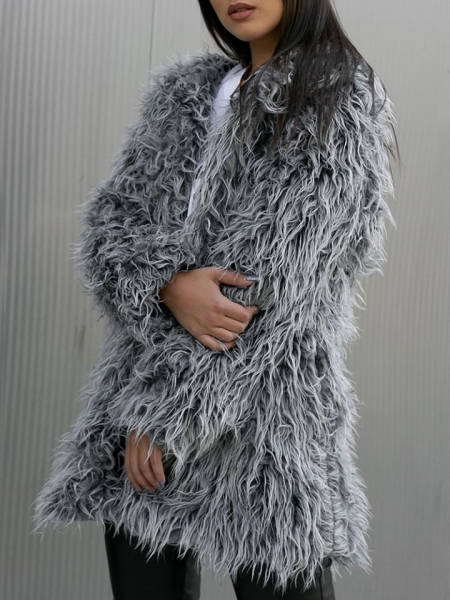 AGATHA GREY FUR