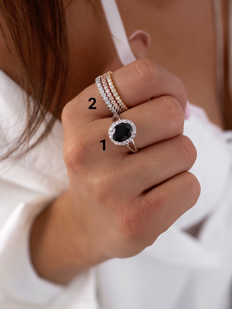 CLARIAN STRASS RINGS