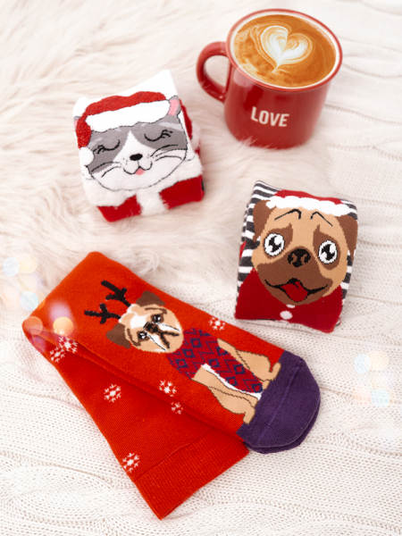 GRUMPY FRIENDS SOCKS PACK OF 3