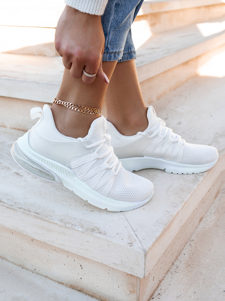 CLAIRE WHITE SNEAKERS