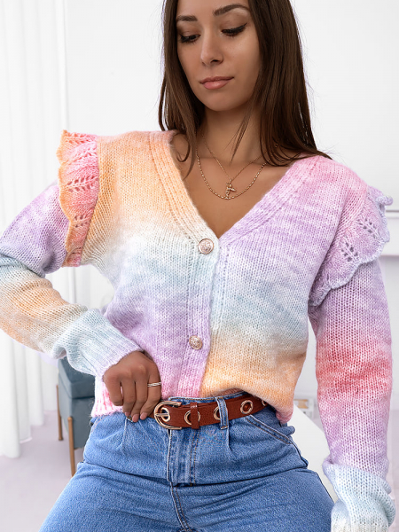 CANDY KNITTED CARDIGAN