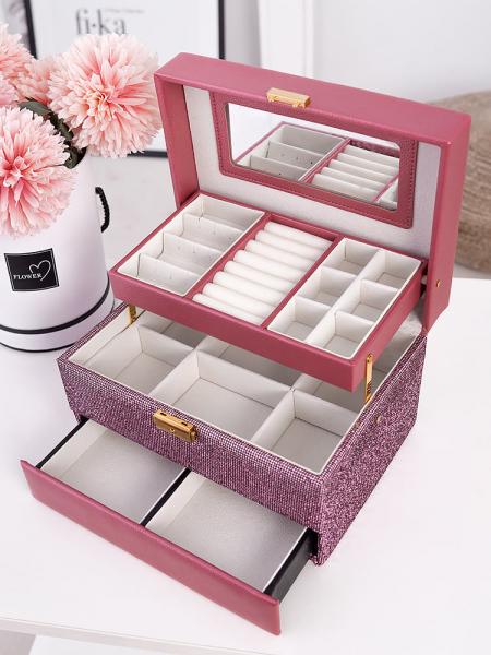 JEWELLERY PINK BOX