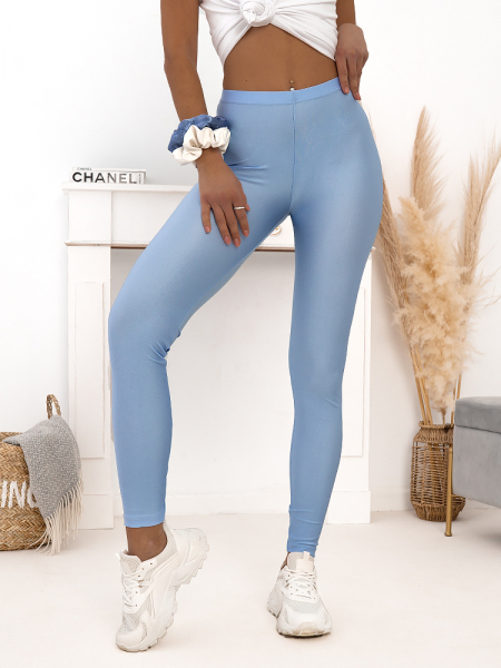 SUPER LYCRA BABY BLUE LEGGINGS