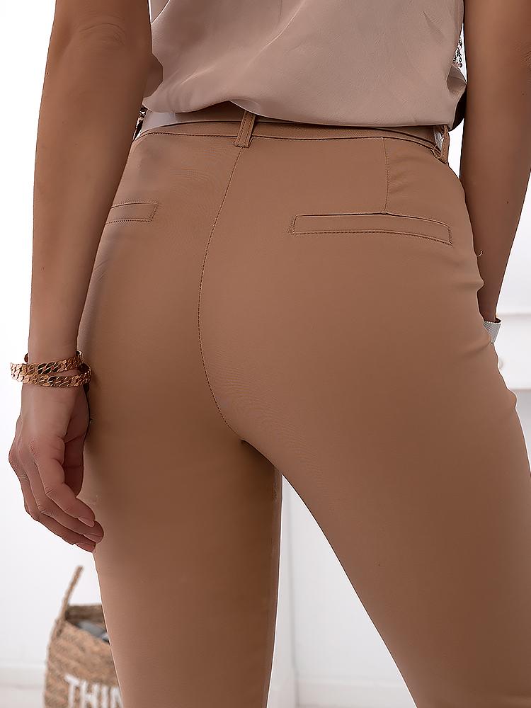 BASIC CAMEL PANTS