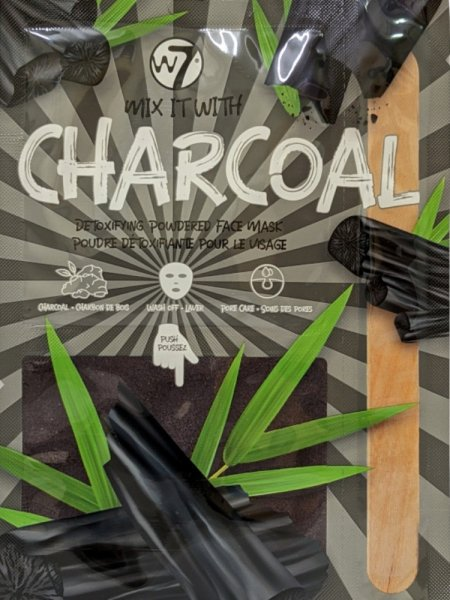 W7 CHARCOAL - DETOXIFYING FACE MASK