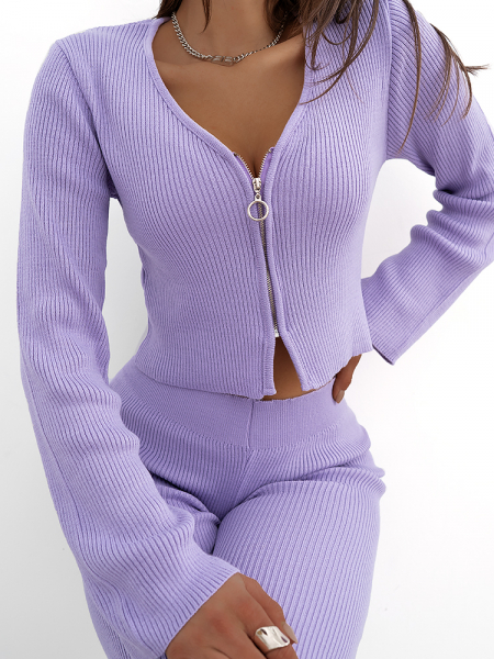 LEA LILA KNITTED SET