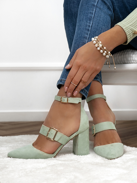 GRACE MINT PUMPS