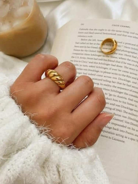 LUCY GOLD RING