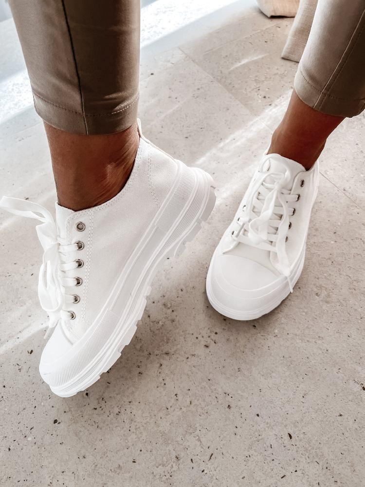 FLEX WHITE SNEAKERS