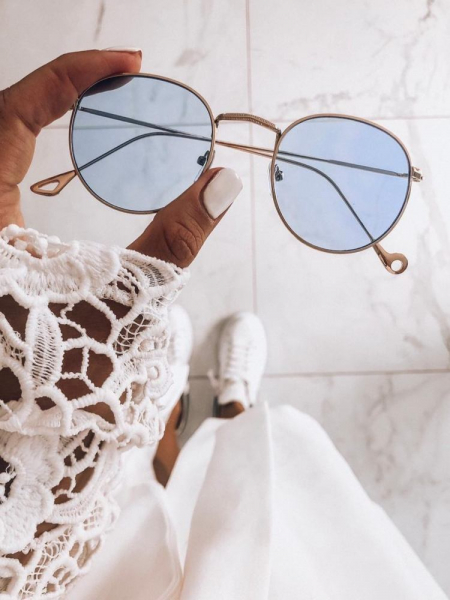 NASIA CLEAR BLUE SUNNIES