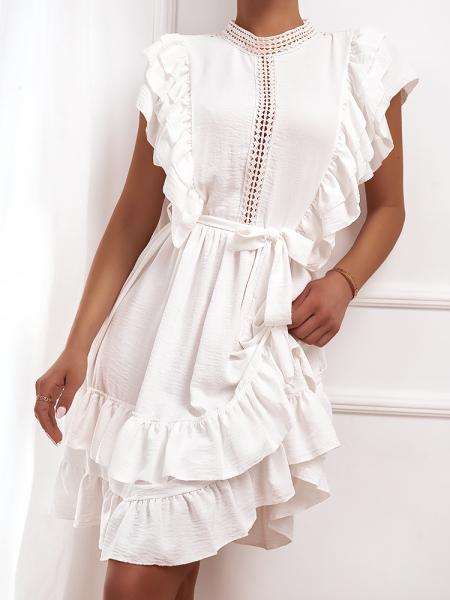 AVIANA WHITE DRESS