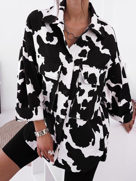 COW OVERSIZED JACKET