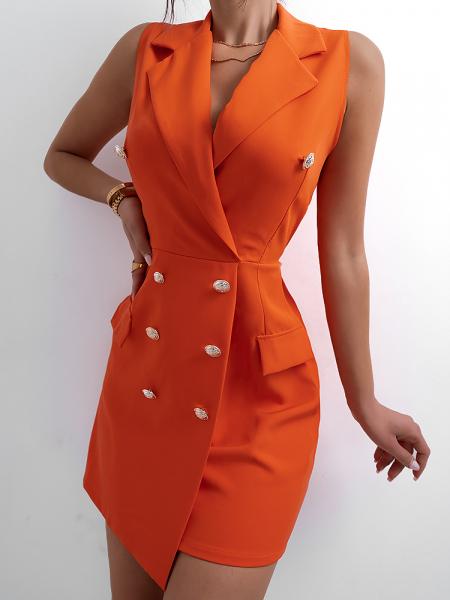 CALERA ORANGE DRESS