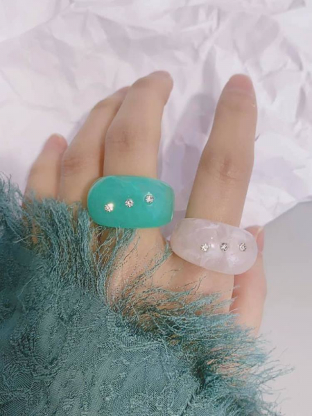 COSMO STRASS RINGS