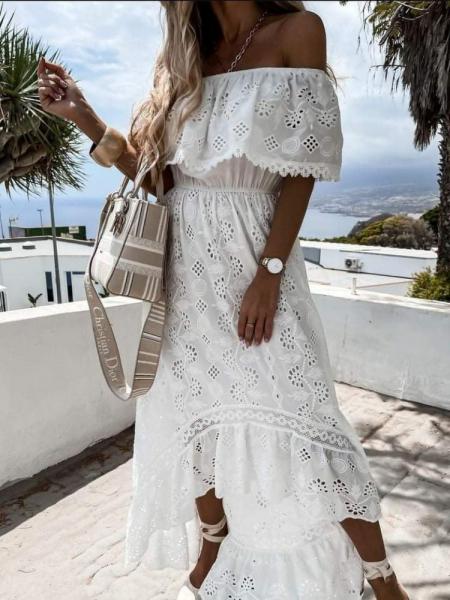 VALIENTE WHITE DRESS