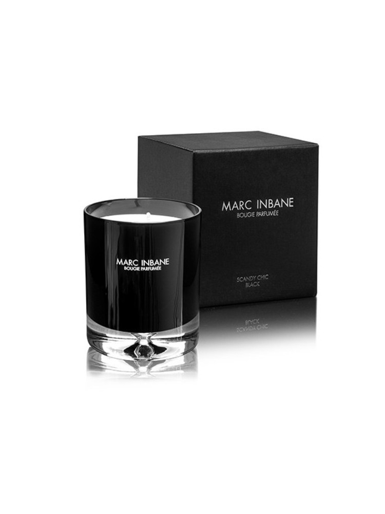 LUXURIOUS BLACK CANDLE BY MARC INBANE